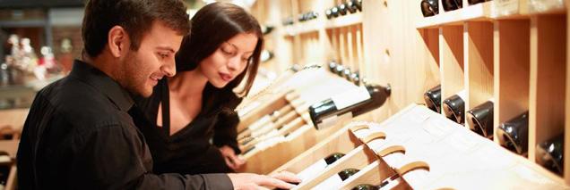 Trovare rivenditori validi che mettono, nel miglior caso, i vostri prodotti in bella esposizione. Foto: Wein-Plus.eu