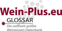 Il logo del glossario di Wein-Plus (Glossar')