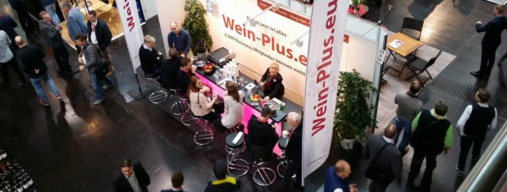 Il Pro-Wein-Plus-Bar al ProWein 2017 - vista dall'alto