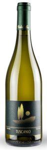 La foto della bottiglia Tuscanio 2016 Toscana Vermentino IGT di Bulichella