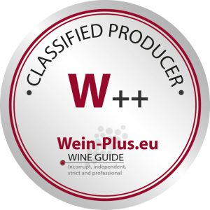 W++ sigla di classificazione della guida dei vini Wein-Plus per il lavoro globale delle cantine