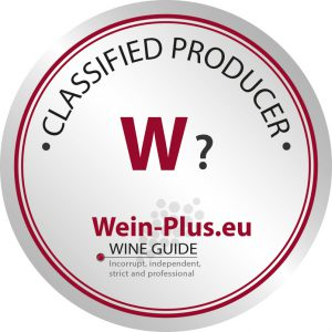 W? sigla per le cantine di cui non abbiano ancora sufficientemente vini da degustare per la guida dei vini Wein-Plus