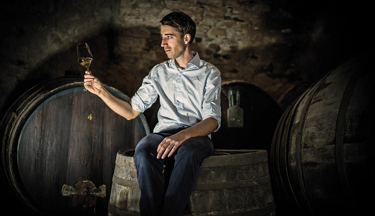 Baron Longo – Scoperta dell'anno 2017 della guida Wein-Plus