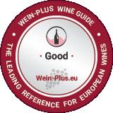 Medaglia del vino di Wein-Plus per un vino rosato buono