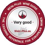 Medaglia per un vino rosso molto buono della guida dei vini Wein-Plus