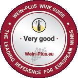 Il molto buono di un vino spumante bianco nella medaglia della guida dei vini Wein-Plus