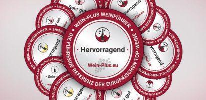 Le medaglie e i diplomi della guida Wein-Plus