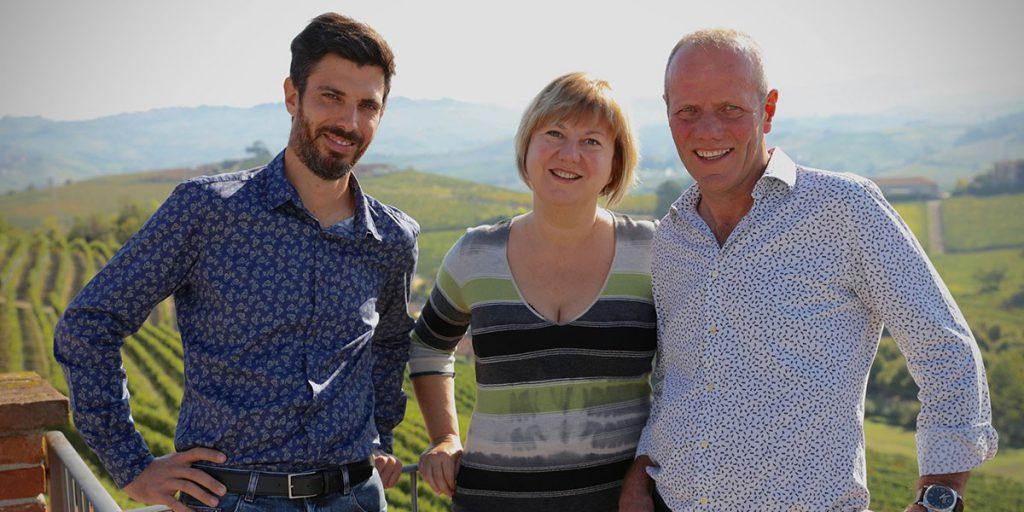 Mauro Veglio e team hanno ricevuto il premio Wein-Plus collezione dell'anno 2018 per il Piemonte