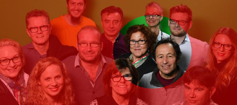 Katrin Walter e Roland Brunner i responsabili per Italia del team Wein-Plus al Prowein 2019 stand 14A66