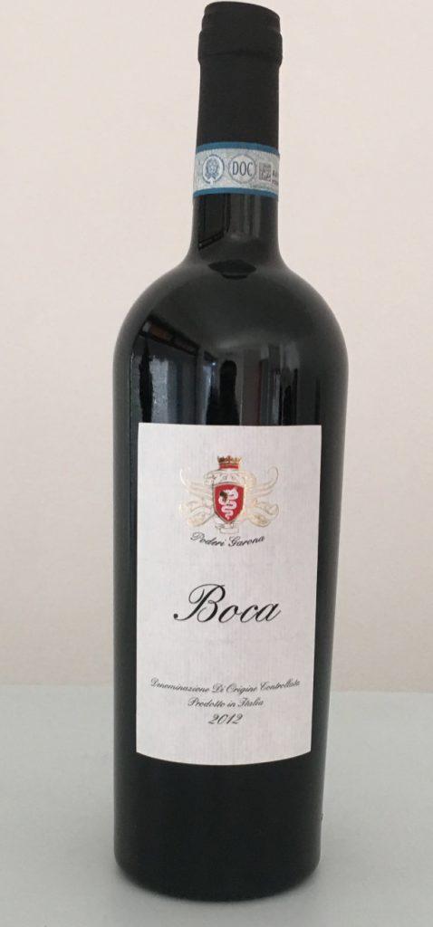 2012 Boca DOC di Poderi Garona di Duella Renzo nel pacco degustazione primaverile di Wein-Plus