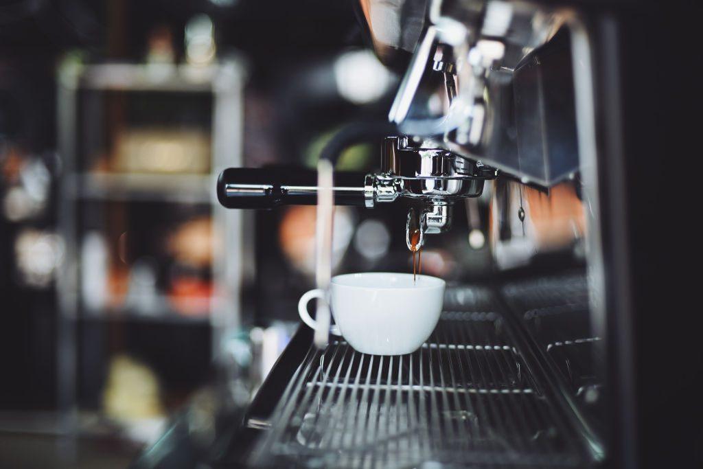 Il caffè bar di Wein-Plus al ProWein 2018 un momento di relax durante la fiera. www.wein-plus.it