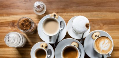 Il caffè bar di Wein-Plus al ProWein 2018
