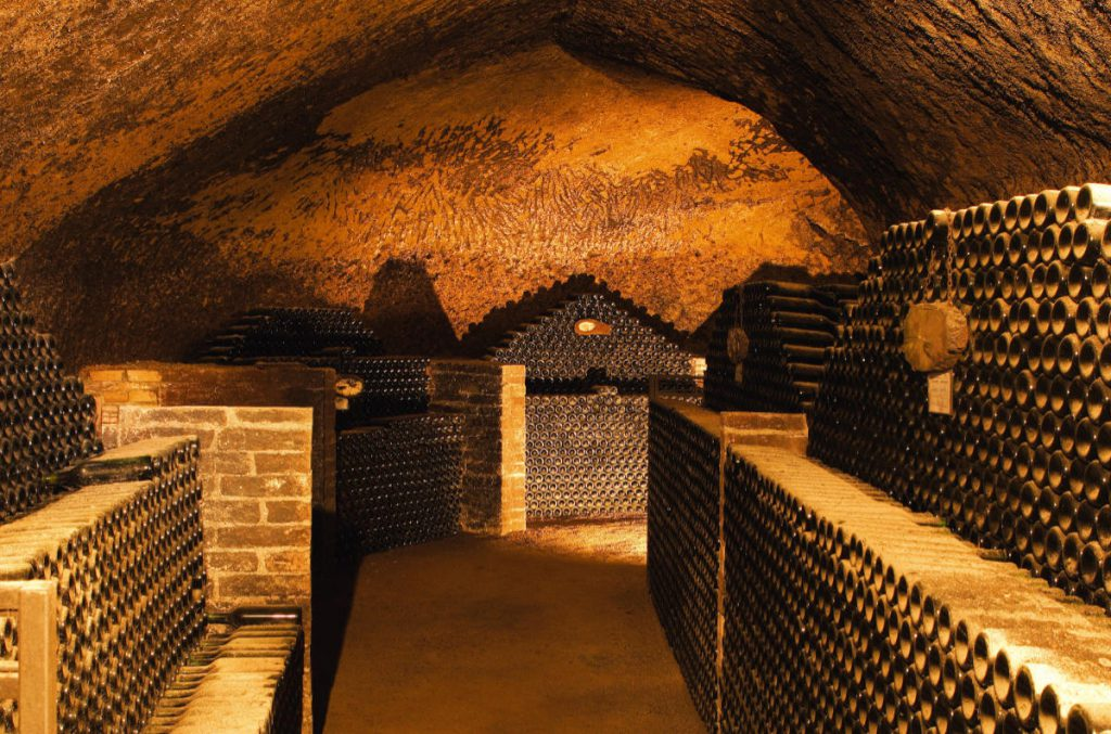Cantina in Montalcino per la maturazione del Brunello. Foto: Consorzio del Vino Brunello di Montalcino