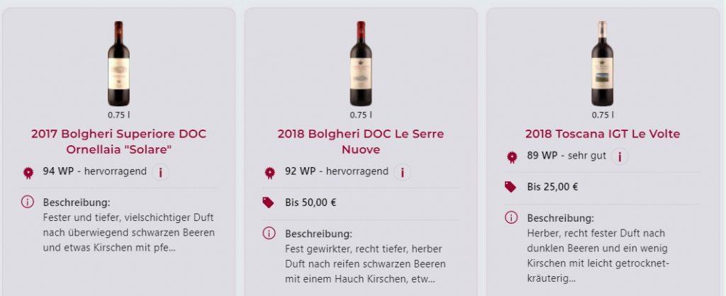 le recensioni del vini nella piattaforma di wein.plus vendono accompagnato con la foto delle bottiglie epr avere un miglio riconoscimento per i produttori - news 21 01