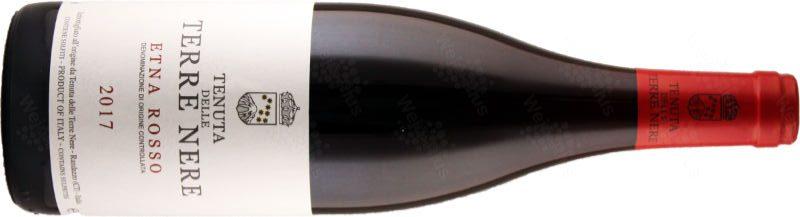 Bottiglia / etichetta del vino Etna DOC Rosso di Tenuta della Terre Nere - Wein-Plus Italia
