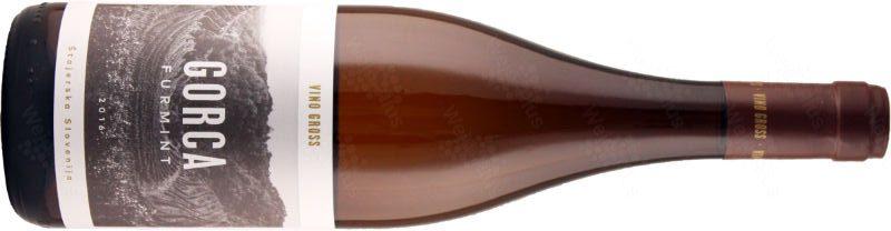 bottiglia / etichetta del vino Gorca 2016, un Štajerska Slovenija Furmint dalle Podravje di Vino Gross - Wein-Plus Italia