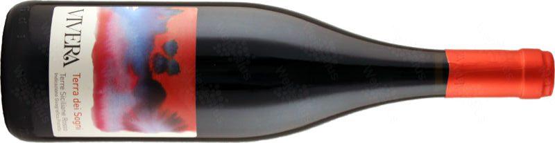 bottiglia / etichetta del vino Terre dei Sogni 2016, un terre Siciliane IGP di Vivera - Wein-Plus Italia